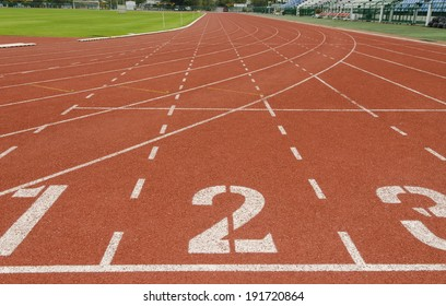 Running track numbers