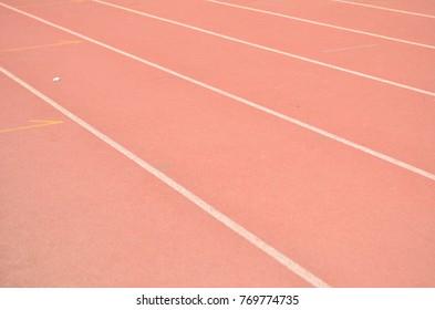 Running track on race track
