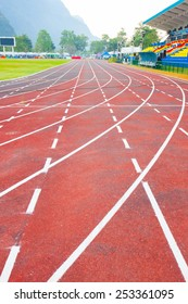 Running track (Running track rubber with line )
