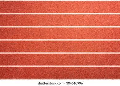 Running track texture