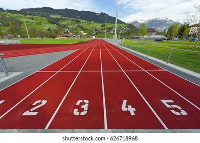 Running Tracks in Switzerland