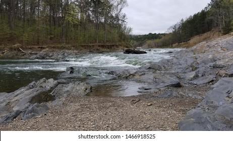 Running water in Broken Bow Oklahoma