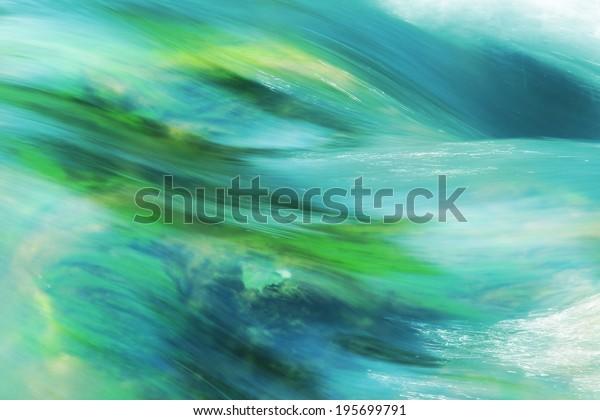 running water, turquoise, german mountain brook