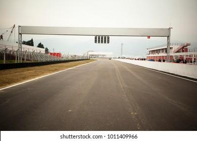 Runway for Car Race