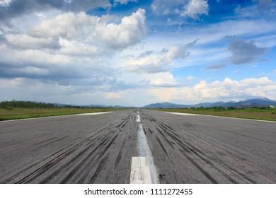 Runway. Northern Laos, Xiangkhoang province.