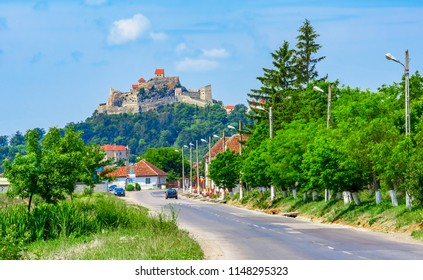 Rupea Fortress, Transylvania, Romania: Street view of the medieval fortress of the city in Transylvania historic region of Romania, Eastern Europe