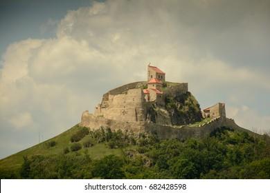 Rupea medieval fortress in Brasov  Transylvania, Romania