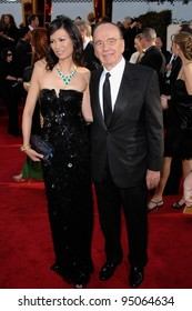 RUPERT MURDOCH & wife WENDY at the 64th Annual Golden Globe Awards at the Beverly Hilton Hotel. January 15, 2007 Beverly Hills, CA Picture: Paul Smith / Featureflash