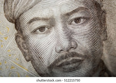 rupiah currency macro close up money photo