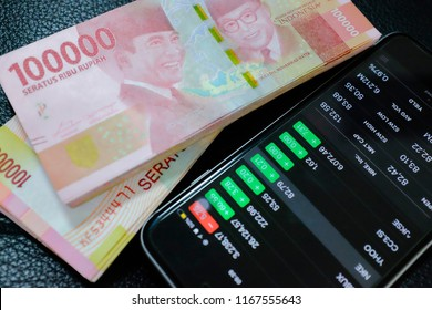 Rupiah indonesia currency and stock market ihsg business finance