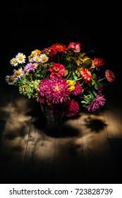 Rural autumn bouquet full of warm feelings