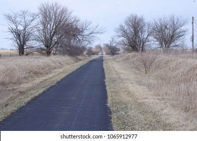 Rural bike trail