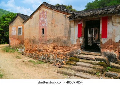 A rural china housing at Sanher town, Guangdong, China.