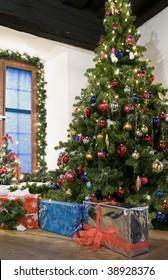 Rural Christmas in Austria