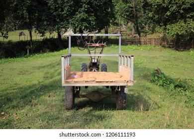 a rural farm tracktor