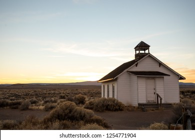 Rural ghost town in Fort Rock Oregon along Central Oregon and the South part of the state.