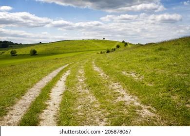 Rural Hill Landscape