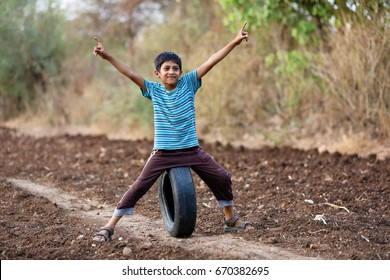 Rural indian child