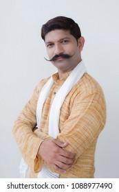 Rural indian Farmer