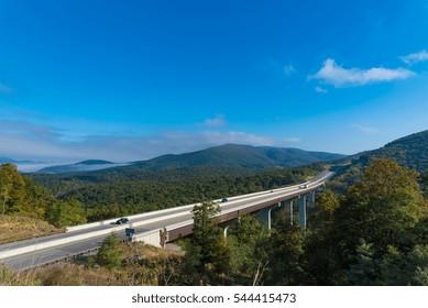 Rural Interstate in Virginia