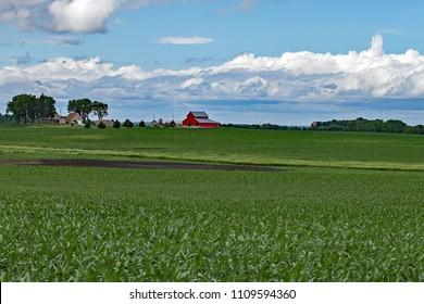 Rural Iowa Farm