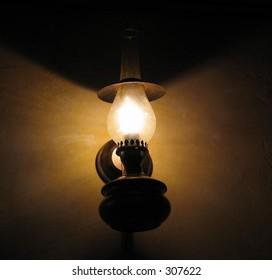 rural lamp