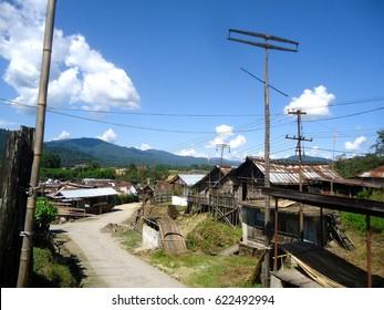 Rural Landscape of Hong Village, Ziro, Arunachal Pradesh