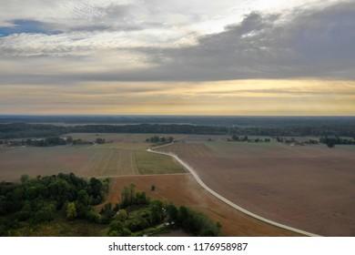 Rural landscape, Latvia.