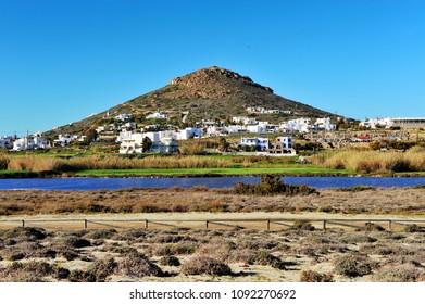 Rural landscape on Naxos island, Greece
