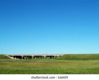 Rural Michigan Freeway