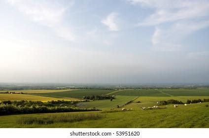 Rural Oxfordshire England