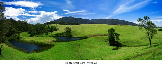 Rural Panoramic of the Bega Valley region of NSW