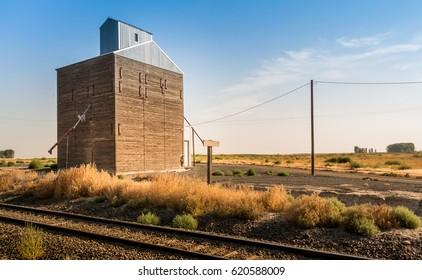 Rural Railroad Scene