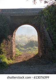 Rural Railway Underpass in Andalusia