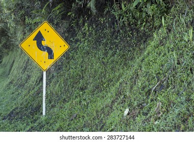 Rural road signage