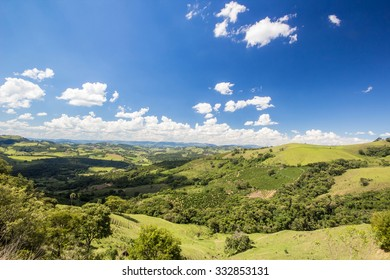 Rural scene of city of Tiradentes - Minas Gerais - Brazil