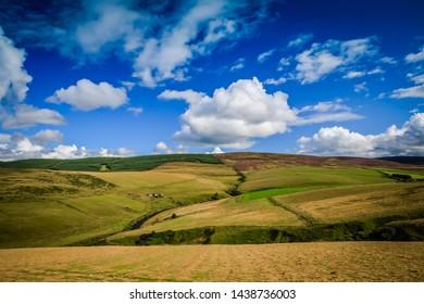 Rural Scotland - The HIghlands in the Aberdeenshire region.