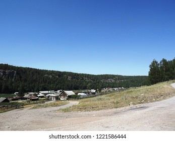 rural settlement in the mountains