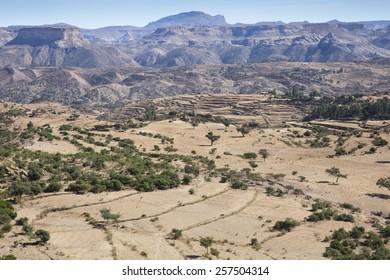 Rural surroundings of Debre Damo Monastery