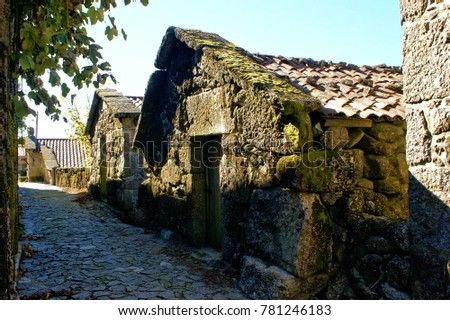 Rural village in National Park of Peneda Geres in Portugal