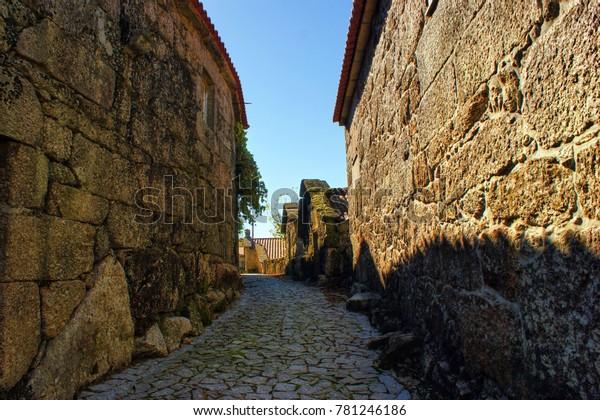 Rural village in National Park of Peneda Geres in Portugal