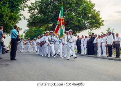 Ruse, Bulgaria - 07 August , 2017. Anniversary a 138 years since the creation of the Navy in Ruse