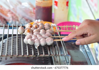 Rush balls ready for breakfast.
