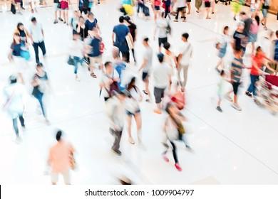 rush hour people