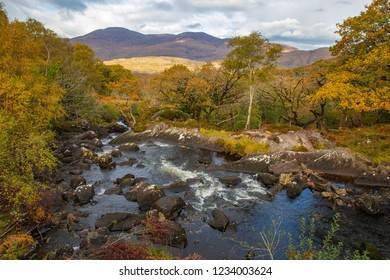 Rushing waters along the Ring of Kerry, Ireland