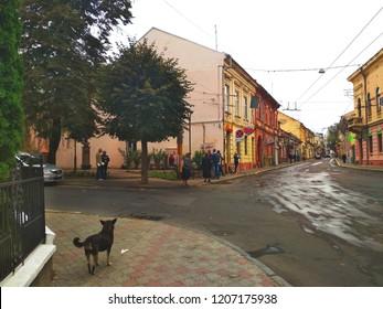 Ruska Street, Chernivtsi, Ukraine, 9th september, 2018