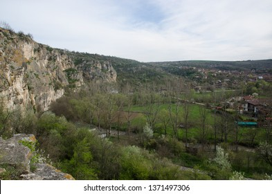 Russe/Bulgaria - April 12 2013: A view of the Russenski Lom natural canyon from the Cherven medieval citadel, near Russe, Bulgaria