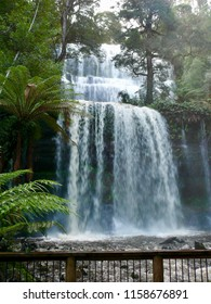 Russell Falls in full flight Tasmania