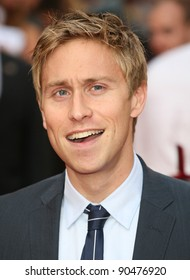 Russell Howard arriving for The Inbetweeners, The Movie, film premiere at the Vue Leicester Square, London. 16/08/2011 Picture by: Alexandra Glen / Featureflash