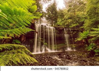 Russells Falls, Mount Field National Park, Tasmania, Australia.